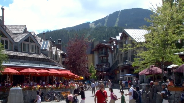 Take a car to Whistler